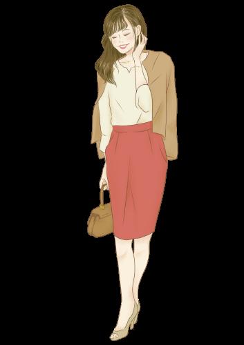 令嬢・コンサバ